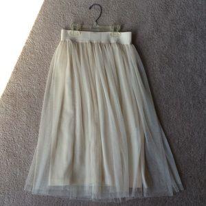 Flowy tulle skirt XS/S